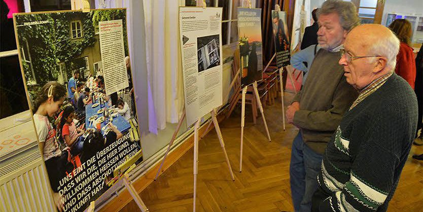 Ausstellung Pro Asyl