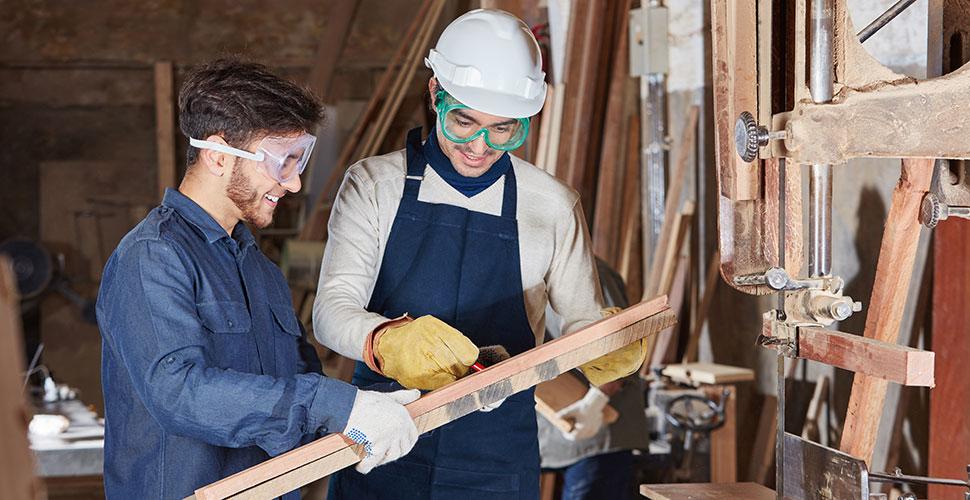 Ausbildung Fachpraktiker Holzverarbeitung